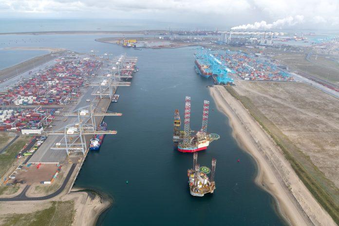 Prinses Amaliahaven, Port of Rotterdam