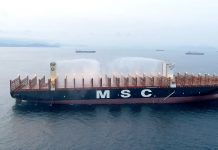 DNV GL Awards MSC New Container Ship Fire Safety Notation