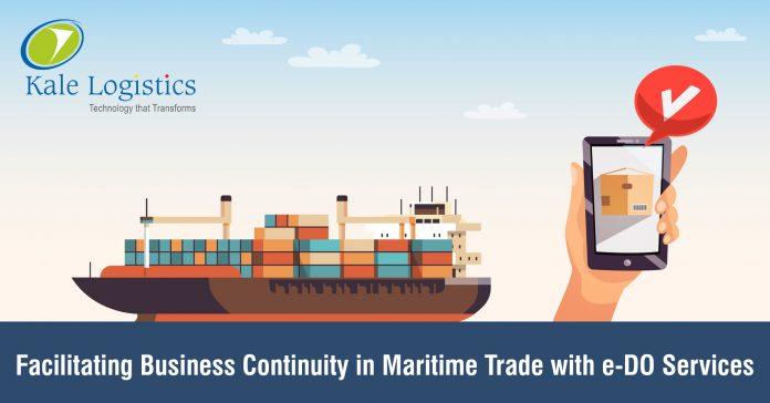 Kale Logistics Introduces e-DO Solution for Maritime Logistics