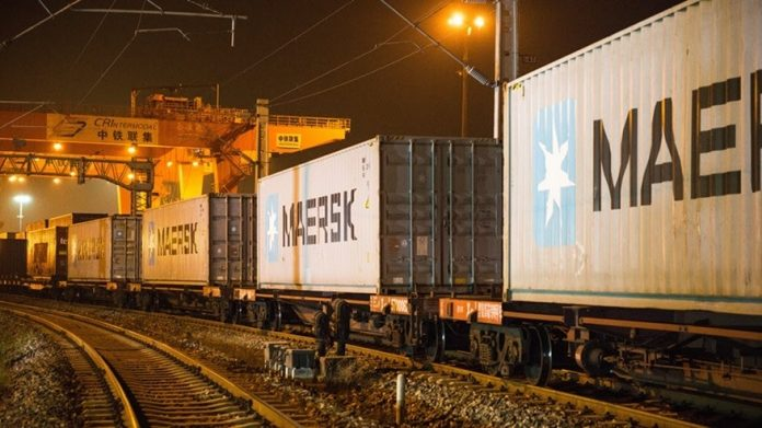 Maersk to Offer Weekly Rail Service from China to Turkey