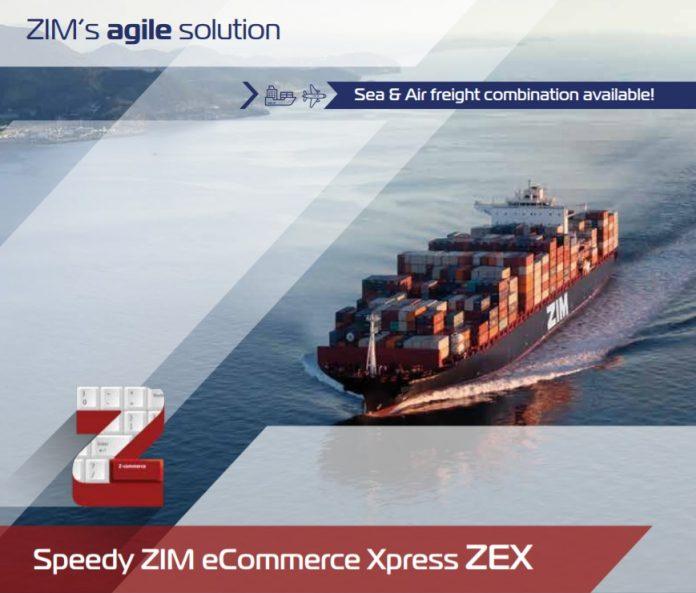 ZIM Launches New eCommerce Xpress -ZEX