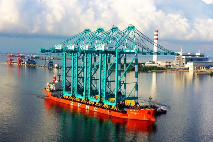 PTP Boosts Terminal Performance with Arrival of 4 Quay Cranes,