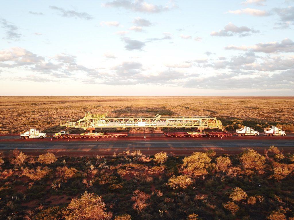 World's Largest Rail Mounted Machine Delivered by DB Schenker