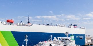"""K"" Line Announces First Ship-to-Ship LNG Bunkering Business to Commence in Japan"
