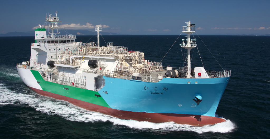 """""""K"""" Line Announces First Ship-to-Ship LNG Bunkering Business to Commence in Japan"""