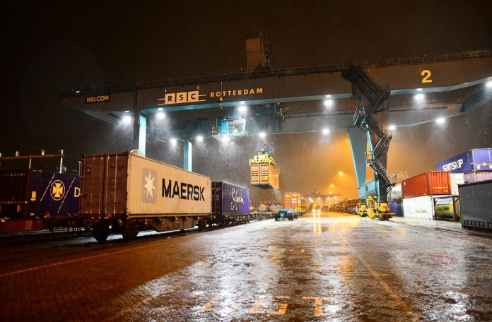 Maersk Dispatches First Train From Rotterdam to China