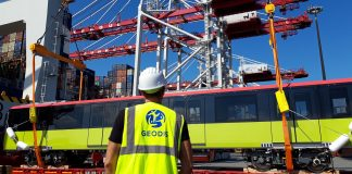 GEODIS Transports Metro Cars from France to Vietnam