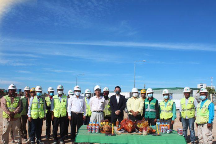 Phnom Penh SEZ Subsidiary Constructs New Rental Warehouse