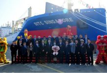"SITC Holds Naming & Delivery Ceremony for M/V ""SITC SINGAPORE"""