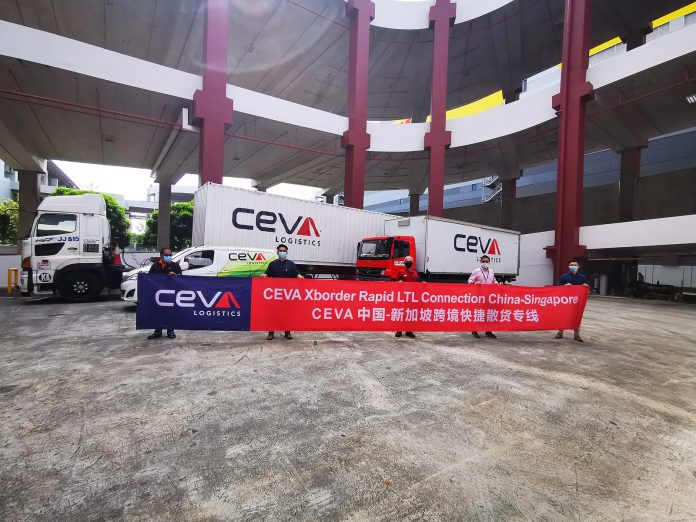 CEVA Logistics Extends Rapid LTL Services to South East Asia