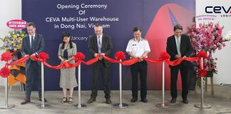 CEVA Logistics Opens New Warehouse Facility in Vietnam