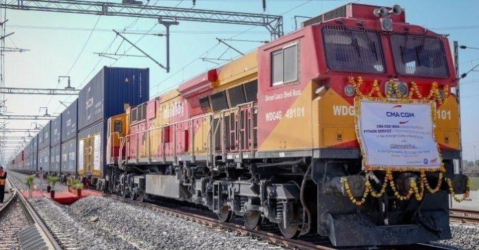 CMA CGM India Introduces the Python Train Service