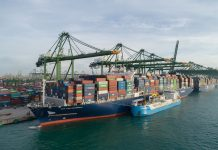 Asia's First Ship-to-Containership LNG Bunkering Undertaken by CMA CGM
