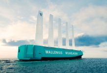 Wallenius Wilhelmsen Showcases First Full-scale Wind-powered RoRo Ship
