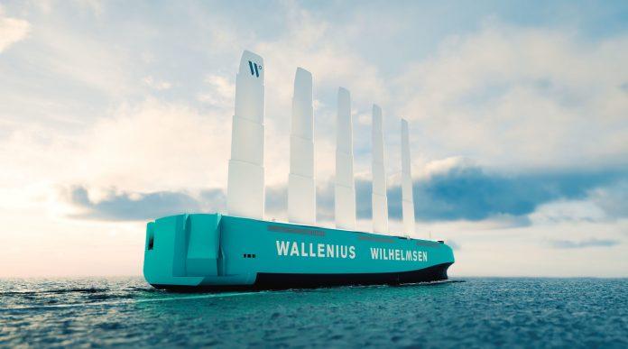 Wallenius Wilhelmsen Showcases First Full-scale Wind-powered RoRo Ship