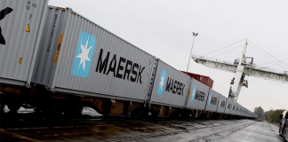 Maersk Pioneers First-ever Block Train from Japan to UK via Trans-Siberian Railway