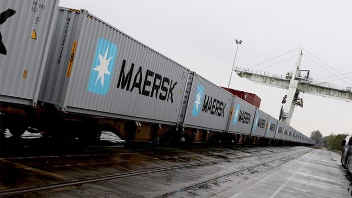 Maersk Pioneers First-ever Block Train from Japan to UK via Trans-Siberian Railway