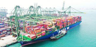 HMM Nuri Fully Laden on Maiden Voyage